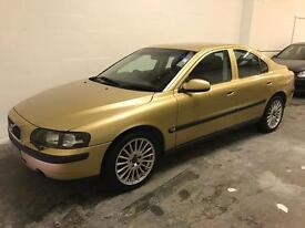 CHEAP VOLVO S60 WITH FULL MOT AND LEATHER INTERIOR. NO OFFERS