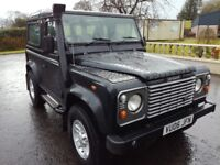 Landrover land rover defender swb 90 2006 td5 2495 County Station wagon 6 seats tax 305 per year