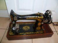 Antique Singer 127K Manual Sewing Machine 1926