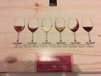 Royal Leerdam Wine Glasses 6x 53cl 18.75 OZ