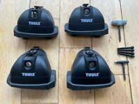 Thule Footpack 753 with Fixing kit 3030