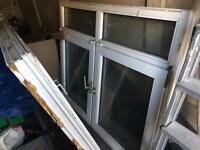Two large double glazed windows