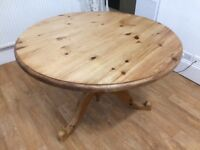 BEAUTIFUL SOLID WOOD TABLE MUST GO BY TOMORROW