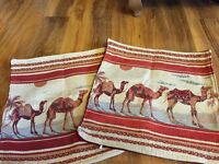 Cushion covers x 2