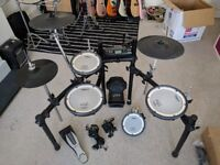 Roland TD-4KX2 V-Drums Electronic Drum Kit With Four Mesh Heads