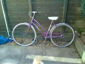 Ladies vintage Raleigh bike