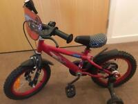 Boys Disney cars bike