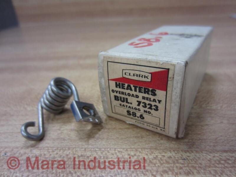 Joslyn Clark S8.6 Overload Relay Heater Element S86
