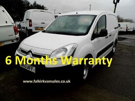 Citroen Berlingo 1.6 HDi L1 625 LX Panel Van
