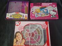 Various crafts and creative girl toys (unwanted gifts)