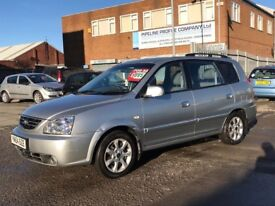 2004 KIA CARENS *** 75,000 MILES *** FULL LEATHER ***