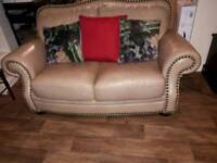 2 stunning Reid furniture leather sofas
