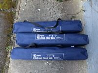 3 Higear Folding Camp Beds