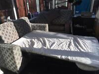 2x2 seater settees 1 is a bed settee