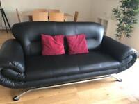 Sofa plus large chair