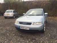 2003 AUDI A3 1.6 PETROL 5 DOOR MANUAL cheap solid car