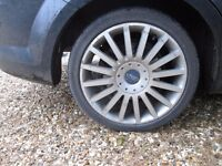 """18"""" Ford ST Alloy Wheels set of five"""