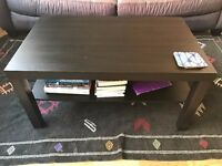 Standard Ikea Black Coffee Table in great condition