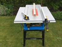 Clarke CTS11 10 inch Table Saw Including Stand