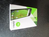 New condition Motorola Moto X Play Android Marshmallow Smartphone