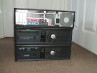 HUGE computer clearout, 3 pc's, 2 cases, cpu, psu, leads etc, retirement sale