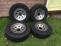 4 As new Michelin Latitude DT Cross tyres 245/70 RS 16