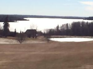 Unobstructed Lake and Golf Course View Lot