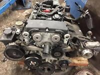 06 Slk200 engine Mercedes damaged complete engine