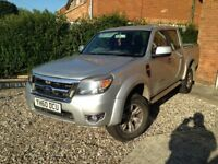 Ford ranger 2010 4x4 twin cab pick up truck