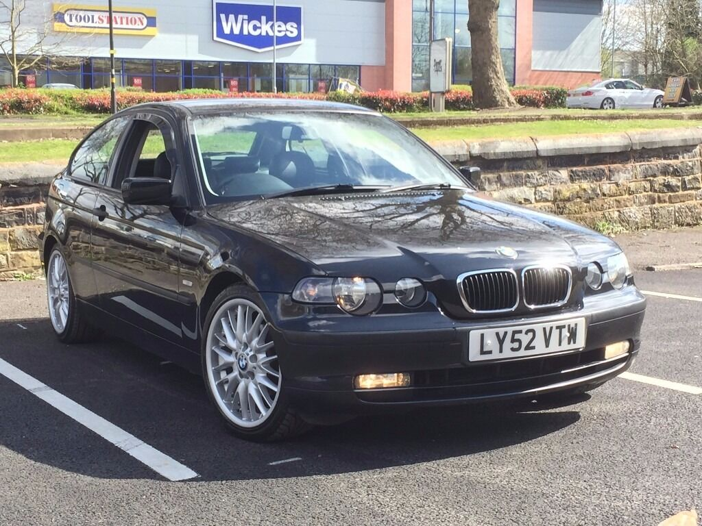 2003 Bmw 316ti Compact Automatic Black Leather M