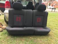Polo 6n2 Gti rear seats
