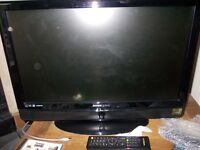 hannspree 25 inch lcd tv spares or repairs