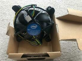 Intel CPU heat sink cooler fan LGA1200