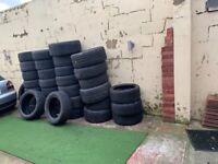 18 19 20 21 22 inch Part Worn Tyres