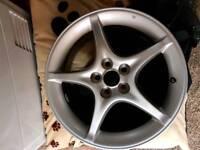 """16"""" Toyota 5 stud alloy wheels"""