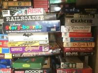 Selection of Board games.