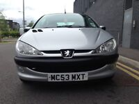 Peugeot 206 1.4 Hatchback 2004 - Very Low Mileage Long MOT - Cheap to Maintain - £695.00 ovno
