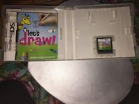 LETS DRAW GAME WAS £17.99 USED ONCE!