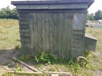 XL wooden chicken coop, run, house, enclosure with wheels