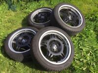 "Bmw genuine style 24 17"" wheels"