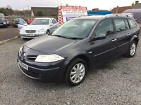 RARE RENAULT MEGANE DYNAMIQUE DCI (106) BEAUTFUL!!!ONE YEAR MOT!!!SERVICE HISTORY!!!GREAT FAMILY CAR