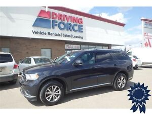 016 Dodge Durango Limited All Wheel Drive - 31,694 KMs, Seats 7