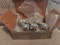 6 ceramic knobs
