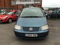 Volkswagen Sharan 1.9 TDI PD Sport 5dr SERVICE HISTORY,2 KEYS,