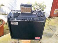 session acetone 100 watt amp & footswich vox tones hank marvin
