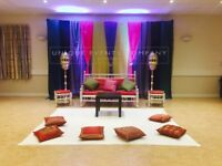Asian Wedding Stage Hire /Mehndi stage hire -We cover all areas