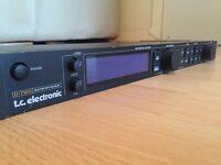 "TC Electronics D-Two Digital Delay 19"" 1u rackmount"