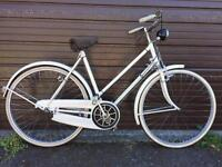 Vintage 1953 Ladies Rudge Whitworth bicycle UNFINISHED PROJECT