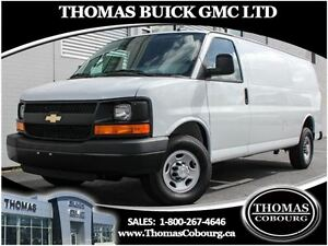 2016 Chevrolet Express 2500 1WT - V8, LOW KMS!