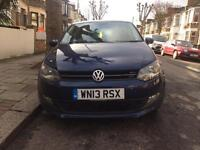 VOLKSWAGEN POLO 2013 1.2 CAT D DAMAGED LOW MILES